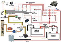Camper electics diagram