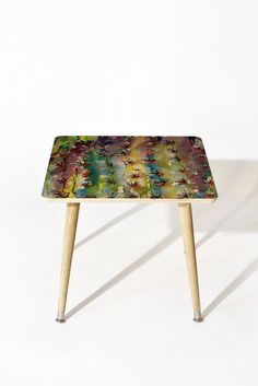 Ginette Fine Art Abstract Cactus Side Table | DENY Designs Home Accessories