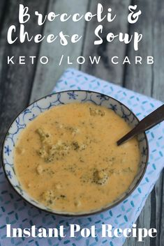 "TweetEmail TweetEmail Share the post ""Instant Pot Broccoli & Cheese Soup Recipe {Keto/Low Carb}"" FacebookPinterestTwitterEmail One of the very first meals I cooked when I started following a ketogenic/low carb lifestyle was Broccoli & Cheese Soup. I had avoided it for years due to the high-fat content. Now that I was eating high-fat foods withcontinue reading..."