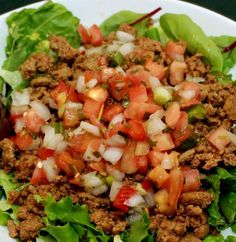 "Turkey Taco Salad  17 Day Diet ""Cycle 1""."