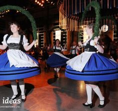 Read about the Oktoberfest Celebration special event we put together. Guests were greeted by costumed actors in Lederhosen as they entered the venue. German Beer, Shall We Dance, Lederhosen, Corporate Events, Dancers, Special Events, Cheer Skirts, Celebration, Actors