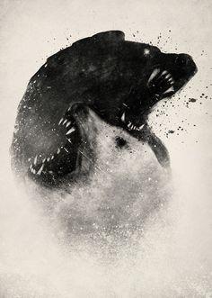 Polar Opposites Art Print by DB Art