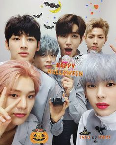 ¿¿Cómo fue tu día de #Halloween #할로윈 ??  #ooon #오운 #dino #디노 #inhaeng #인행 #jaeyong #재용 #heecheon #희천 #yoondong #윤동 #헤브 #kpop