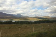 View from the train to Spean Bridge