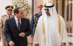 اخبار اليمن الان - محمد بن زايد والسيسي يستعرضان أزمات المنطقة