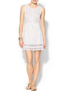 Olive & Oak Lace Shirt Dress   Piperlime