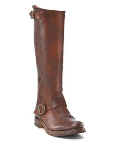 """Frye """"Veronica"""" Slouch Tall Boots with Extended Calf 