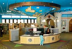 good article about children's library spaces...