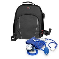 From 14.99 Duragadget Nurse / Gp / Doctor Medical Kit Backpack - For Nursing / Home Visits Medical Supplies & Equipment - With Adjustable Interior Dividers And Padded Shoulder Straps (300 X 240 X 110 Mm)
