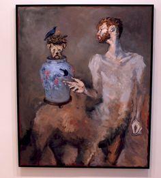 Le centaure et le nid d'oiseau-Gerard Garouste-galerie Templon-194,5x160