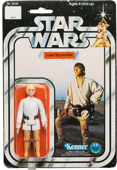 Star Wars 1978 Vintage Kenner 12 Back A Double Telescoping Luke Skywalker AFA 80 Luke Skywalker Action Figure, Star Wars Luke Skywalker, Kenner Star Wars, Star Wars Toys, Childhood Toys, Childhood Memories, Jouet Star Wars, Nostalgia, Star Wars Vehicles
