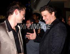 Andy Hallett and David Boreanaz...