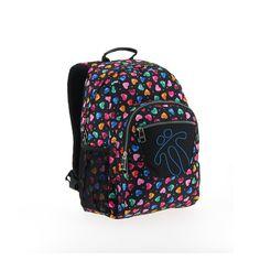 Mochila modelo 0E2 de la marca totto adaptable, una mochila escolar de gran calidad, Tottto es uno de los mejores fabricantes de mochilas del mercado
