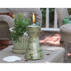 Love the turkish tabletop tiki torch!