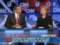 """Hillary Emotional Flip-Flop (""""Shame on you Barack Obama"""")"""