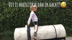 Vlogtige 7 thuis Voltige les van Feline Jurgens - YouTube