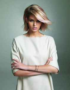 Short hair colour trends