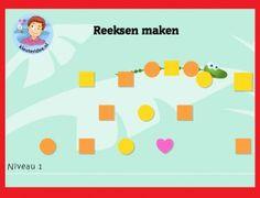 *▶Reeksenrups op digibord of computer  op kleuteridee.nl