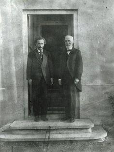 Portretfoto Einstein en Lorentz