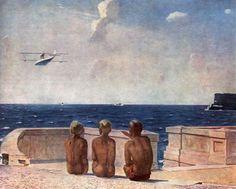1937 FUTURE PILOTS (БУДУЩИЕ ЛЁТЧИКИ), Alexandr Deyneka (1899~1969)
