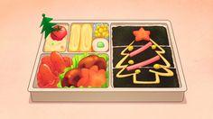 Ichigo brings seaweed bentos for the Starlight Academy girls, Aikatsu! Anime Bento, Cute Food Art, Takoyaki, Aesthetic Food, Bento Box, Food Illustrations, Japanese Food, Kawaii Anime, Frittata