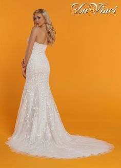 fdbcd0bc8 DaVinci Bridal Style #50518 Davinci Wedding Dresses, Fall Wedding Dresses, Bridal  Dresses Online
