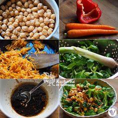 CIZRNOVÝ SALÁT S MRKVÍ Carrots, Vegetables, Food, Carrot, Vegetable Recipes, Eten, Veggie Food, Meals, Veggies