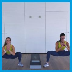 Die 6 besten Bodyweight-Übungen zum Abnehmen You want to lose weight and tighten your body? Then these six bodyweight exercises are perfect for you. Our coaches Anna-Lena and Nicole show you in the video how to do it right. Fitness Workouts, Yoga Fitness, Fun Workouts, At Home Workouts, Fitness Motivation, Health Fitness, Workout Bodyweight, Pilates Workout Videos, Video Fitness