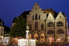 Town Hall & Fountain, Hildesheim, Germany