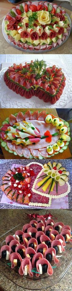 Ready for the New Year: design ideas for - Food Carving Ideas Finger Food Appetizers, Appetizers For Party, Finger Foods, Appetizer Ideas, Yummy Appetizers, Food Carving, Food Garnishes, Garnishing, Party Buffet