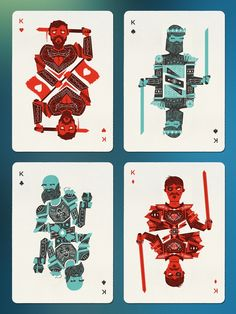 Bloodlines: Custom Playing Cards by Billy French — Kickstarter