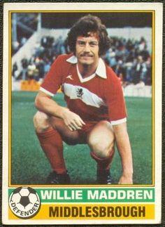 Willie Maddren 1977