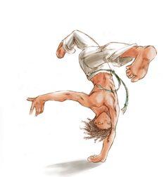 movimento de capoeira