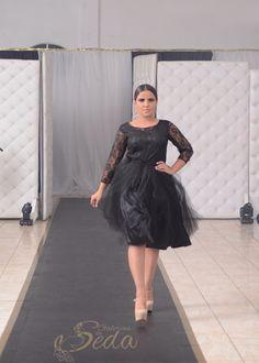 Tul Vestido Negro