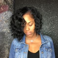 Cute and Choppy body wave bob sew in using MY RAW INDIAN BODY WAVE HAIR!! This is The hair in its natural state razor cut. Low maintenance hair. This is The Rose Affect. Get Pricked by A Rose. Have you booked yet?? TEXT 4044513324. Deposit is a must. C u soon!! #boblife #bobhaircut #bobs #bestbobs #bobnation #wavybob #wavyhair #indianhair #rawindian #bodywave #thejspot #installsatl #prettyhair #photooftheday #atlhair #atlsewins #atlhairstylist #sewinsatl #fashionstyle #hair #hairatl #hai...