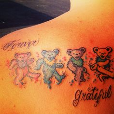 hippie tattoo 463026405419716352 - Grateful dead tattoo Done by Steven Darnell bugaboo south lake, merrillville Indiana Source by Old Tattoos, Cute Tattoos, Body Art Tattoos, Tatoos, Grateful Dead Tattoo, Grateful Dead Bears, Grateful Dead Wallpaper, Arm Sleeve Tattoos For Women, Merrillville Indiana