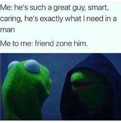 CUT HIM OFF. Evil Kermit lmao