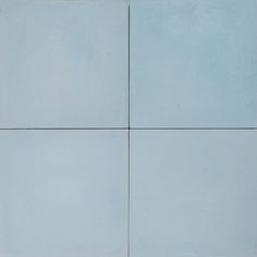 Cement Encaustic Tile Plain Colour Pale Sky Blue # 19B