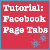 Tutorial: Facebook Page Tabs