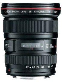 Canon EF 17-40mm f/4L USM Ultra Wide Angle Zoom Lens