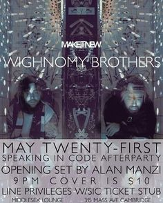 #tbt the time #MakeItNew hosted the US debut of the Wighnomy Brothers. Robag Wruhme returns tonight! Just $10 before 11pm.  #germany #cambma #cambridge #centralsquare #community #sound #sweaty #dark #nightclub #nightlife #dj #djing #djs #production #techno by mmmmaven February 04 2016 at 04:04PM