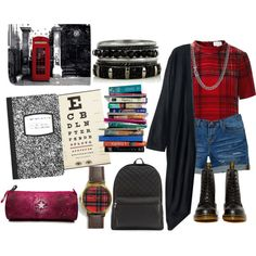 """""""Go to university in London"""" by safiamode on Polyvore"""