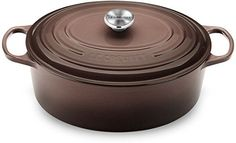 Le Creuset Signature Oval French Oven, Truffle - Truffle *** Click on the image for additional details.