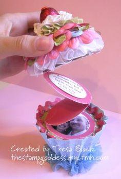 Paper Cupcake Tutorial