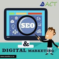 """""""SEO & Digital marketing"""" is the new trend of internet marketing & in the same way Anantha CyberTech offer best services for digital marketing & SEO, http://www.anantha.co.in/seo-and-digital-marketing-services"""