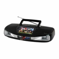 Supersonic SC-1393 Portable Audio System with Remote Control and 4.3 LCD Screen / USB, SD, AUX Inputs / AM, FM, SW Radio / Built-In Battery (Black) (SC-1393BLACK) http://www.giftgallore.com/product/84291_m/75_/Supersonic-SC-1393-Portable-Audio-System-with-Remote-Control-and-4.3-LCD-Screen-USB-SD-AUX-Inputs-AM-FM-SW-Radio-Built-In-Battery-(Black)-5284084291M.html