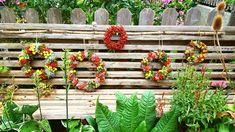 Floral Wreath, Wreaths, Fall, Plants, Home Decor, Ideas, Autumn, Flower Crowns, Door Wreaths