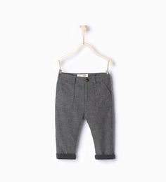 Trousers with braces-Trousers-Baby boy-Baby | 3 months - 3 years-KIDS | ZARA Canada