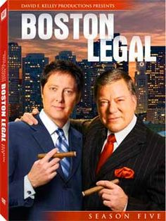 Boston Legal  ,miss this show! so funny!  Alan and Denny !