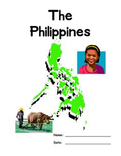 Free Philippines Lapbook pages Gs World, Filipino Art, World Thinking Day, History For Kids, Travel Activities, Unit Studies, Girl Scouts, First Grade, Preschool Ideas